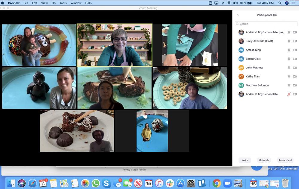 virtual team building screenshot